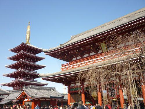 Der Senso-ji Tempel, Tokyo.