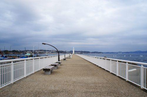Der Deich im Hafen