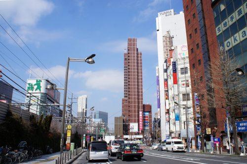 Die Seibu Shinjuku Station in Tokio
