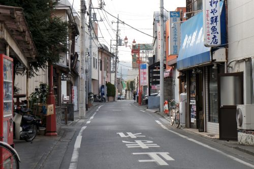 Straßen in Chichibu