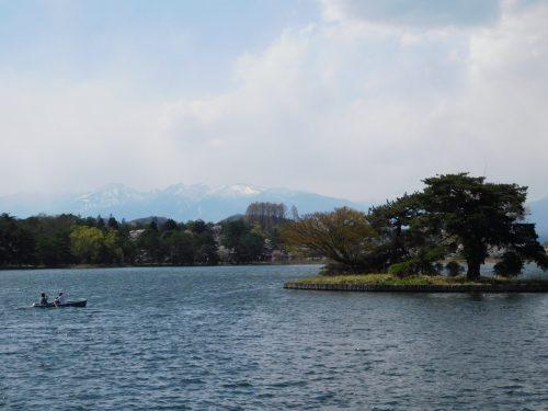 Der Nan See in Shirakawa.