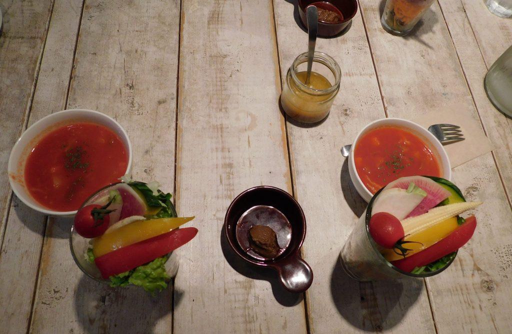 Vegane und vegetarische Restaurants in Tokio, Ain Soph in Shinjuku.