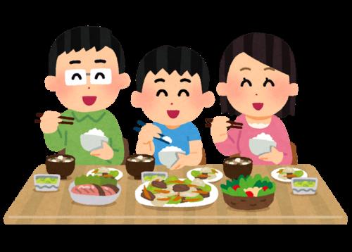 Japanische Tischmanieren.