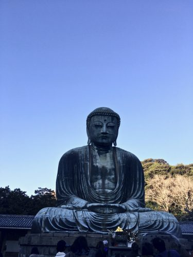 The great Buddha of Kamakura, Japan.