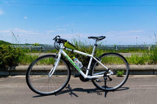 Eine Raddtour im östlichen Hokkaido, Japan.