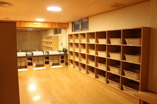 Heilender Besuch im Kaminoyama Onsen, Präfektur Yamagata, Japan.