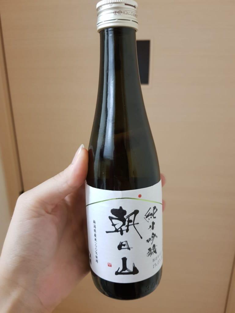 Sake aus der Asahi-Shuzo Sake Brauerei.