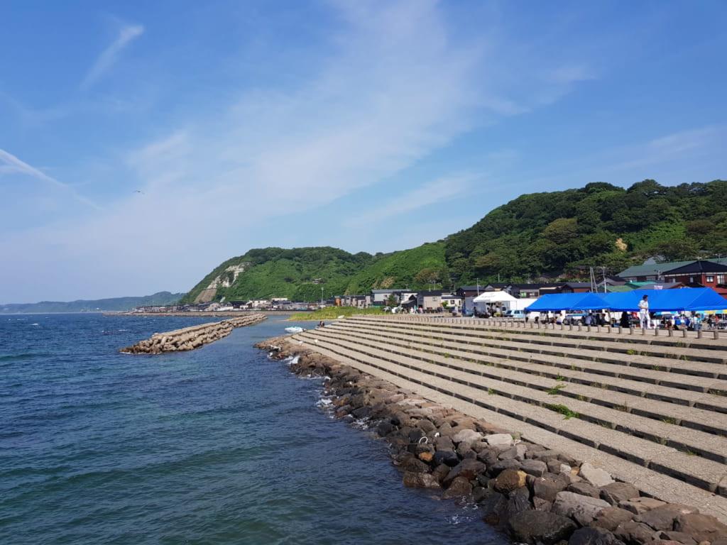Strand in Niigata.