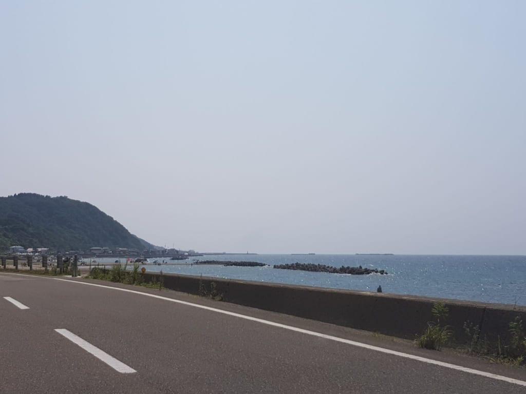 Die Seaside Line in der Präfektur Niigata.