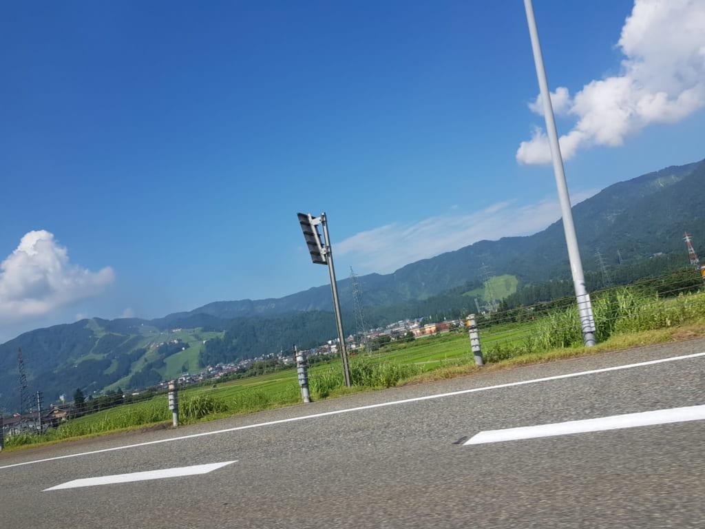 Die Präfektur Niigata ist für ihren Reis bekannt.