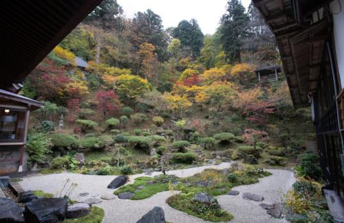 Der Garten des Fusai-ji, Murakami.