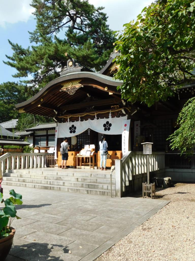 Der Fudaten Schrein soll die Heimat des kleinen Yokai Kitaro und seiner Freunde sein.