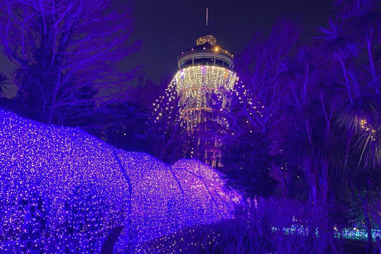 Das Juwel von Shonan: Winterlichter-Paradies auf Enoshima