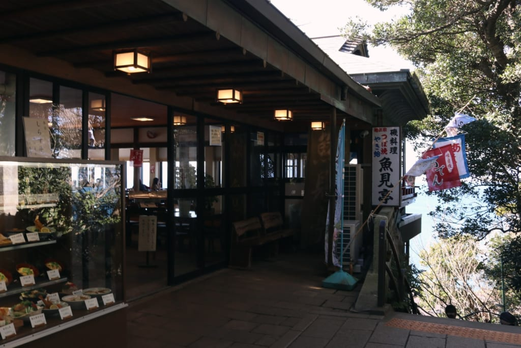 Das Restaurant Uomitei auf Enoshima.