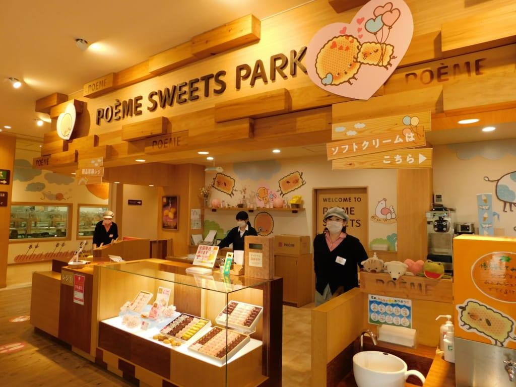 Der Poème Sweets Park in Toon.