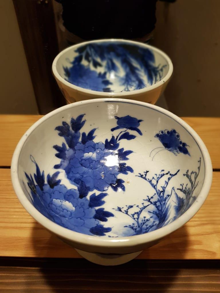 Auch auf den Toiletten lässt sich Keramik aus Japan finden.