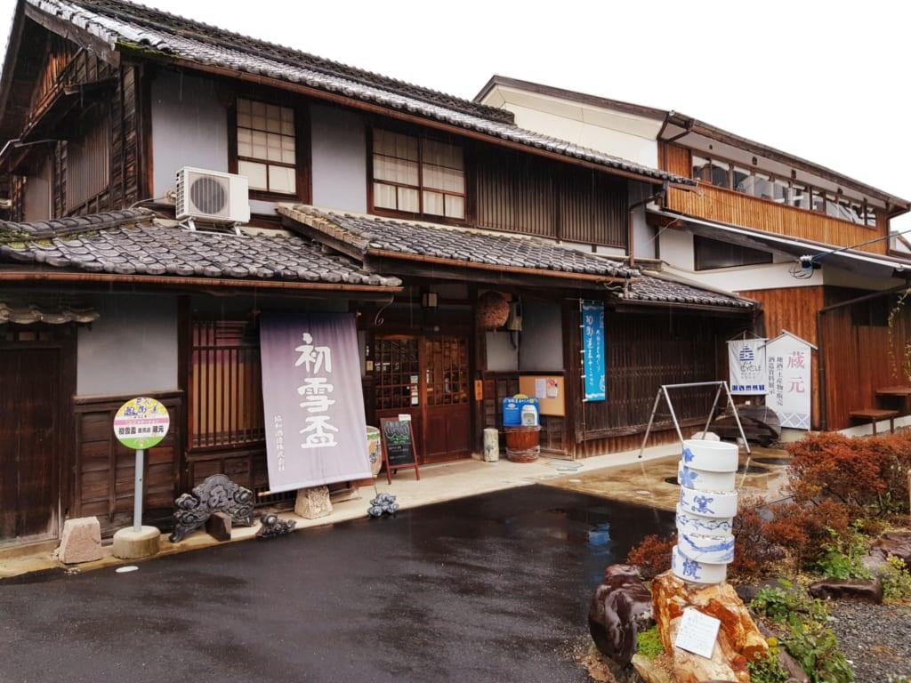 Die Sake Brauerei Kyowa Shuzo in Tobe.