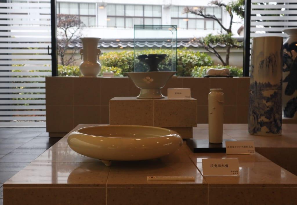 Tobe Keramik ausgestellt.