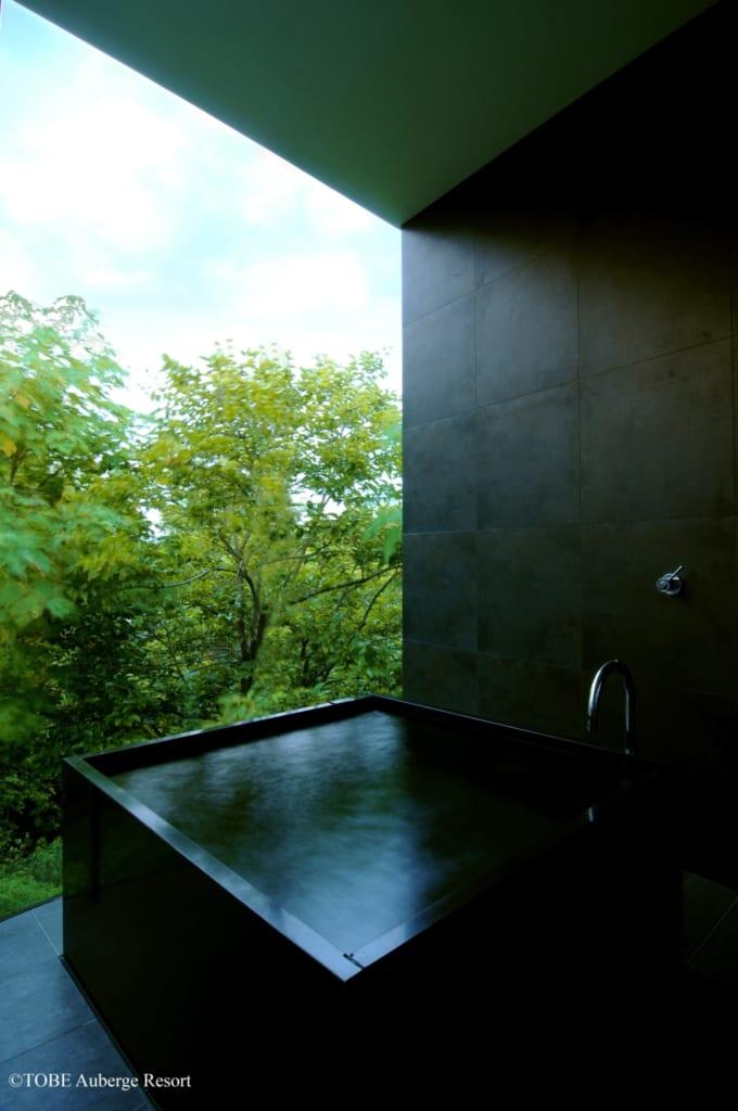 Badezimmer des TOBE Auberge Resorts.