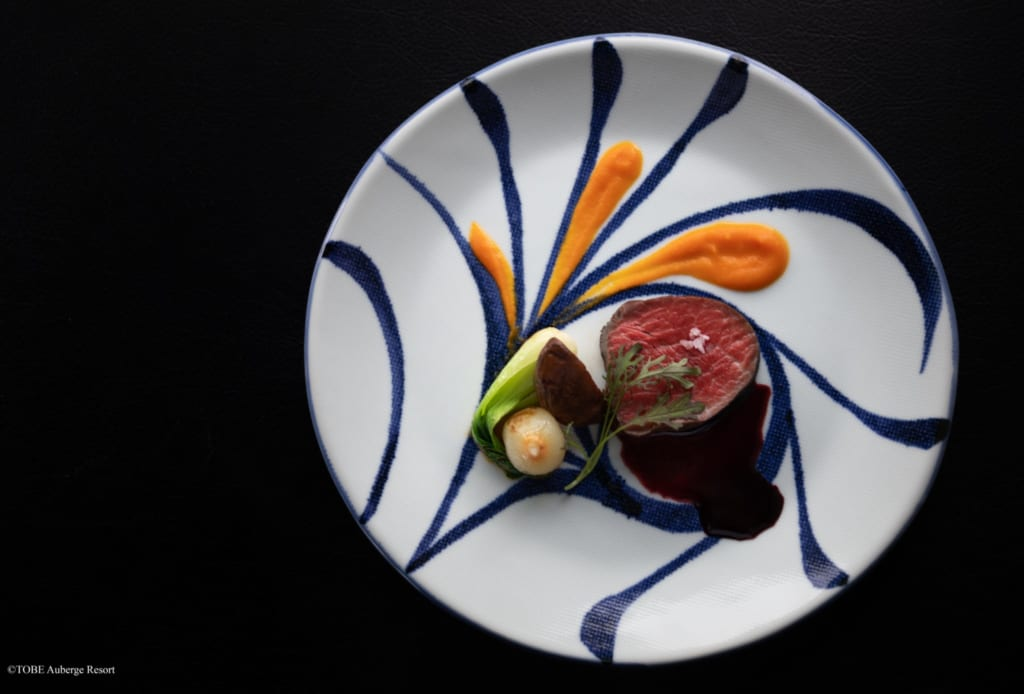 Lokale Produkte werden im Restaurant des Resorts verarbeitet.