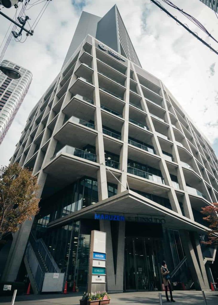 Der Chaska Chayamachi Komplex in Osaka, im Stadtteil Umeda.