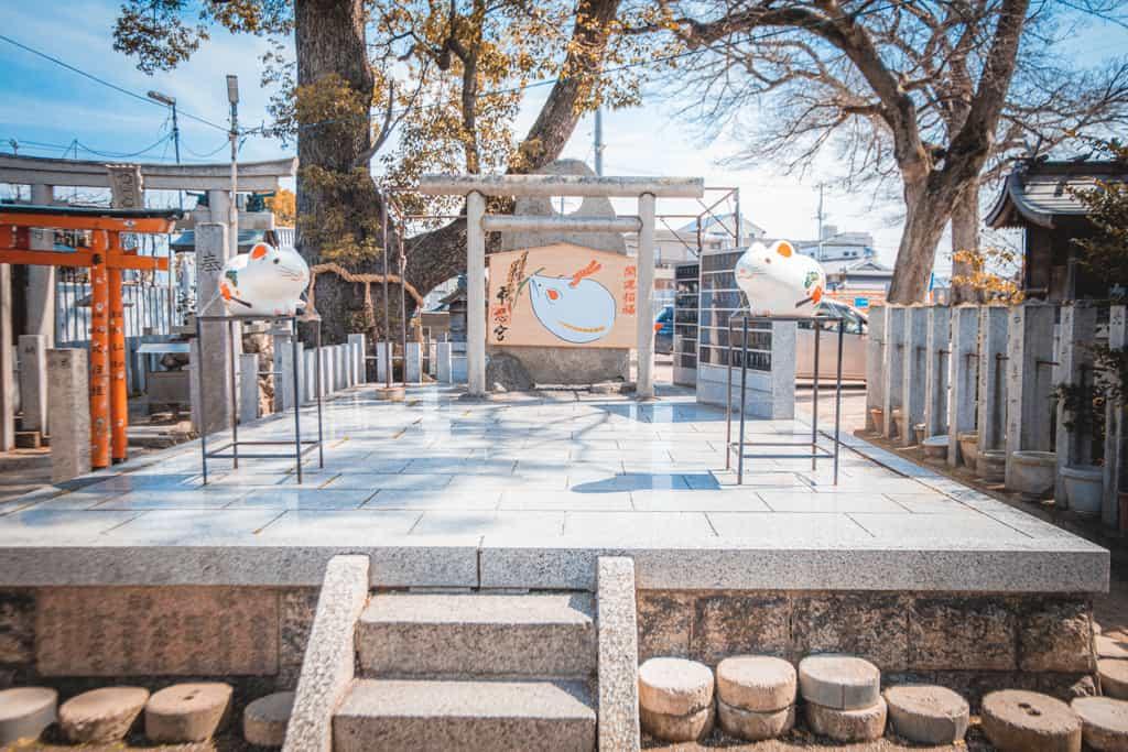 Besucht die Tempel und Schreine in Osaka.