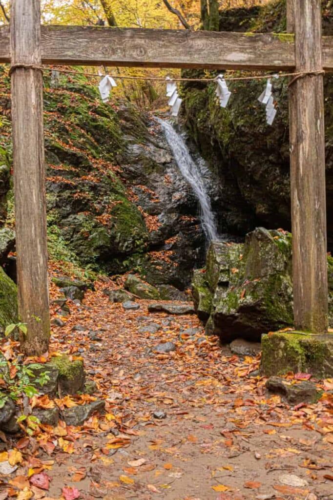 Der Ayahiro no Taki Wasserfall.