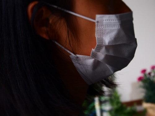 Gesichtsmasken werden in Japan auch aus ästhetischen Gründen getragen.