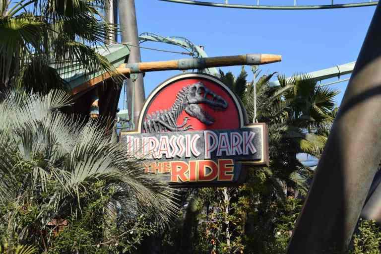 Jurassic Park in den Universal Studios Japan.