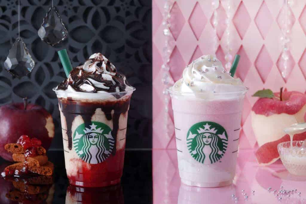 Halloween in Japan, Frappuccino bei Starbucks.