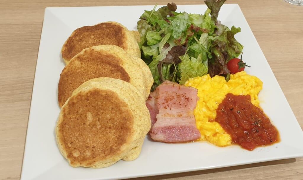 Herzhafte Variante mit Bacon und Ei.