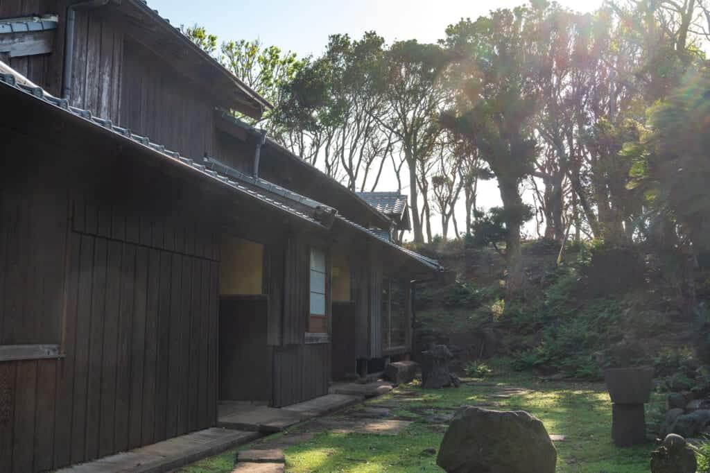 Das verlassene Dorf Nozaki.