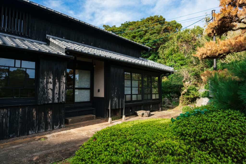 Renovierte Kominka auf der Insel Ojika.