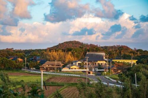 Insel Ojika, Gästehaus in Japan.