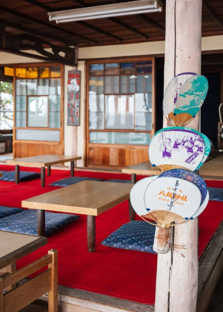 Das Fujimi Tei auf der Insel Enoshima, Japan.