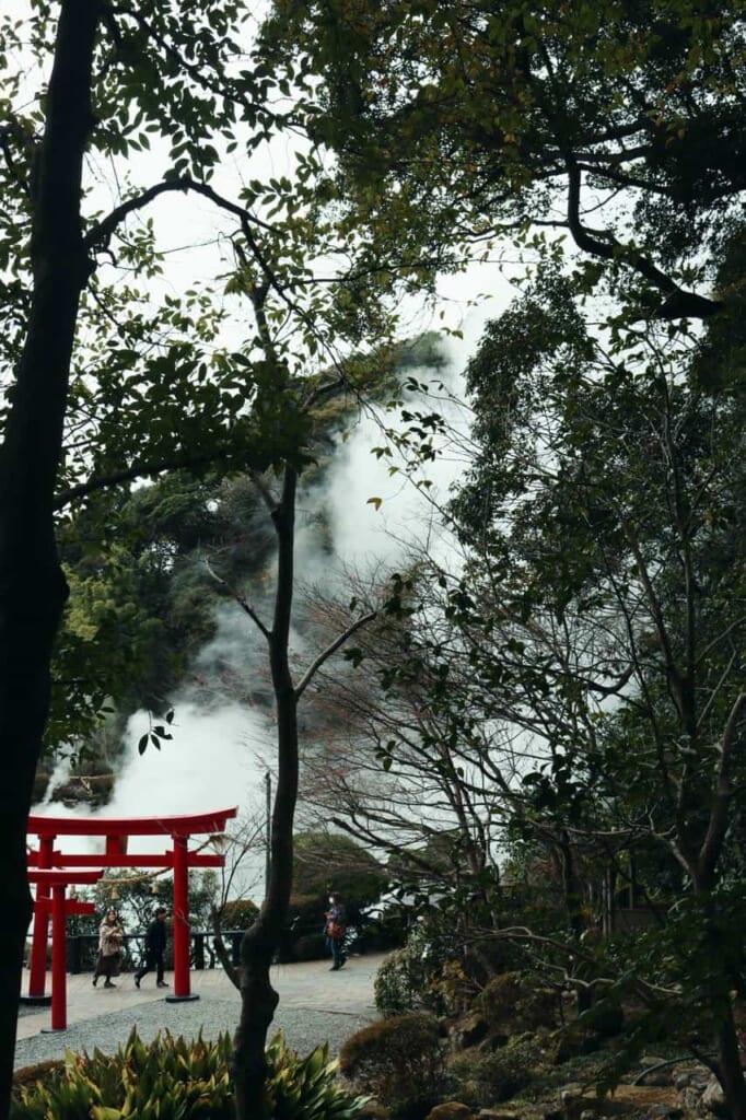 Beppu ist eine der bekanntesten Onsen-Regionen in Japan.