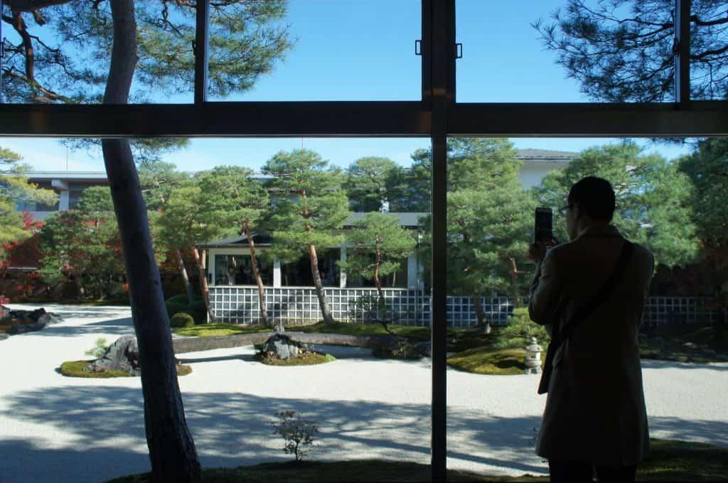 Japanische Gärten finden sich ebenfalls in Kunstmuseen.