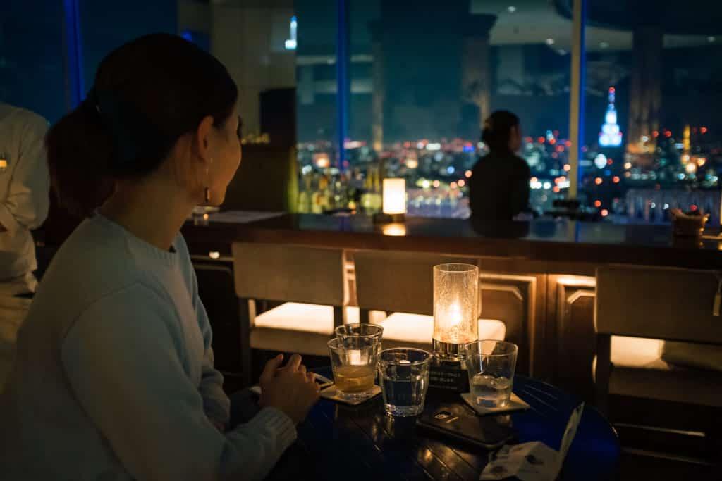 Restaurant im Tokyo Metropolitan Government Building.