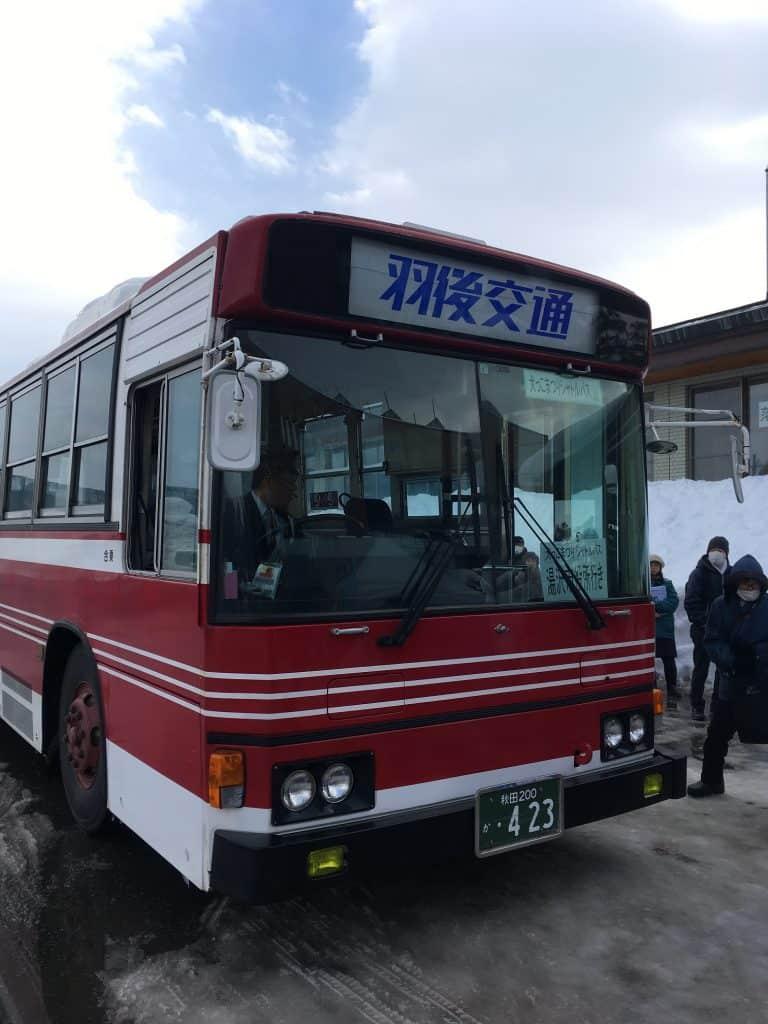 Der kostenlose Shuttle-Bus.