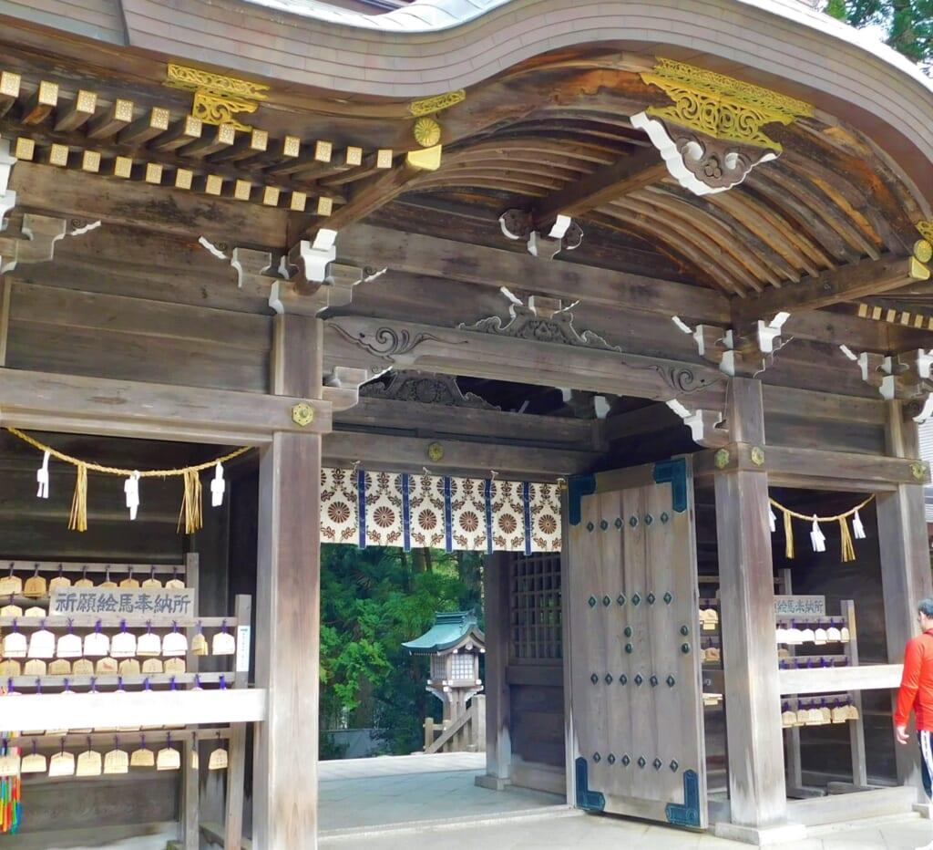 Der Yahiko-Schrein besitzt eine über 2.4000 Jahre alte Geschichte.