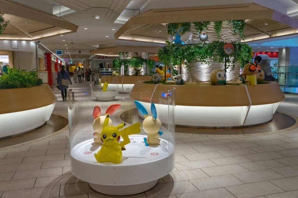 Pokémon im Sunshine City in Ikebukuro.