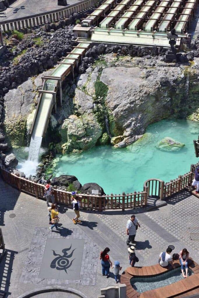 Kusatsu Onsen ist eine kleine Onsenstadt in den Bergen der Präfektur Gunma.