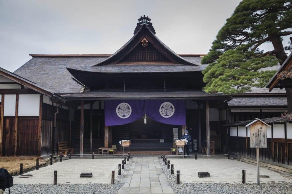 Der Takayama Jinya in der Präfektur Gifu.