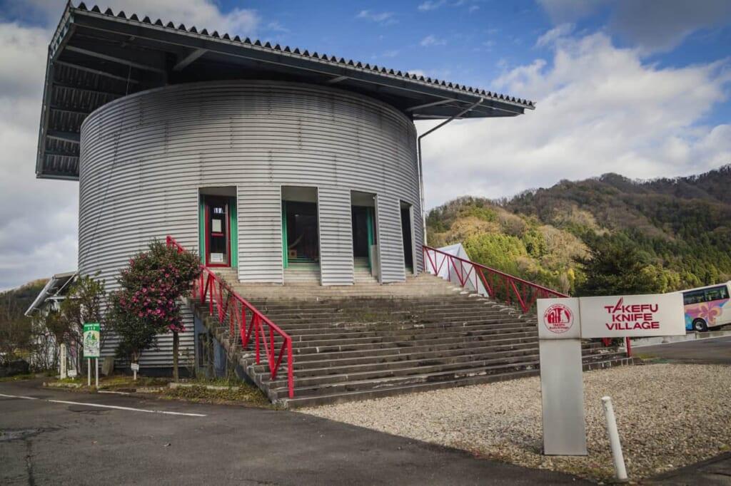 Das Takefu Messerdorf ist erreichbar mit dem Hokuriku Arch Pass.
