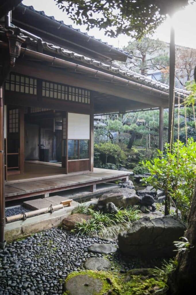 Der Nomura-ke Garten.