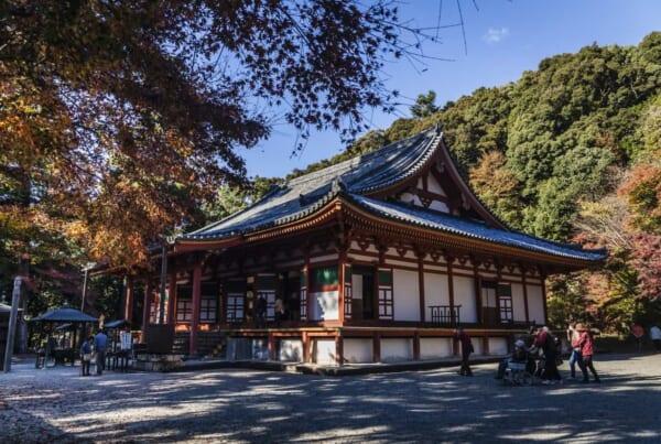 Der Kanshinji- Tempel ist erreichbar mit dem Hokuriku Arch Pass.