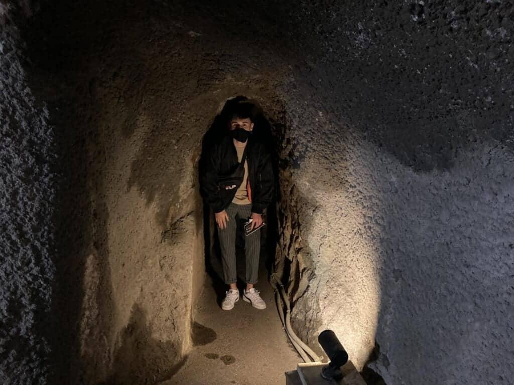 Der Ryugenji-Mabu-Minentunnel ist für die Öffentlichkeit zugänglich.