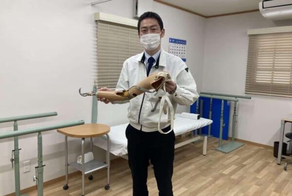 Die Prothesenfirma Nakamura Brace in der Präfektur Shimane.