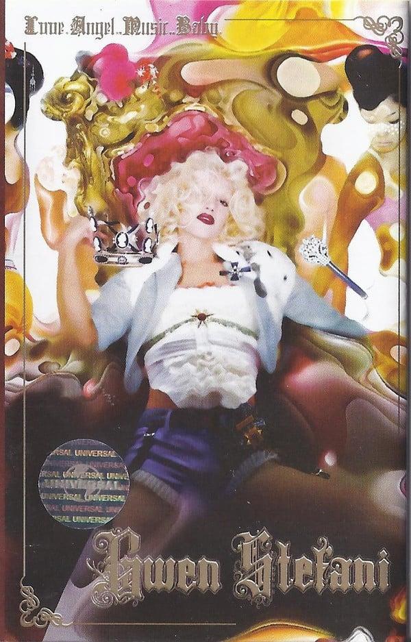 Harajuku Kawaii: Album-Cover von Gwen Stefani für Love.Angel.Music.Baby Album.