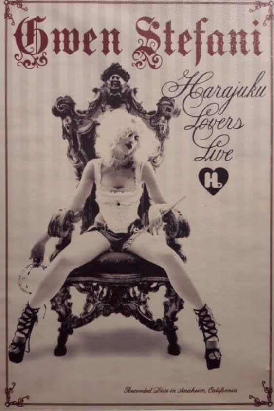 Harajuku Kawaii: Cover für die DVD Harajuku Lovers Tour von Gwen Stefani.